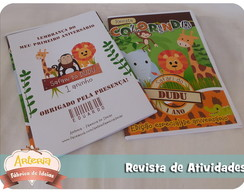 Mini revista de colorir