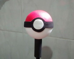 Ponteira 3d Pokebola Pokemon