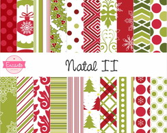 Kit Papel Digital - Natal II
