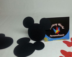 30 aplique rosto do Mickey