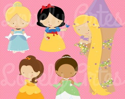 Kit Scrapbook Digital Princesas II