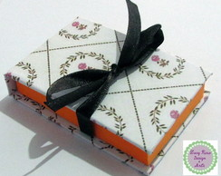 Porta Post-it em Scrapbook