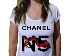 Camiseta Feminina Mundo Fashion 1