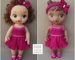 Look Pink Baby Alives MENORES (30cm)