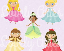 Kit Scrapbook Digital Princesas