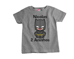 Body ou Camiseta do Batman
