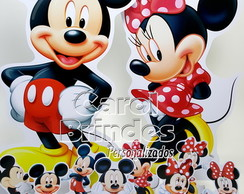 Kit Festa Totens PVC Mickey e Minnie