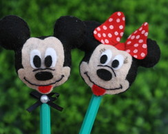Ponteiras do Mickey e Minnie