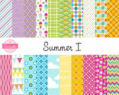 Kit Papel Digital - Summer I