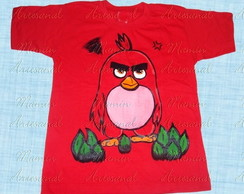 Camiseta divertida Angry Birds