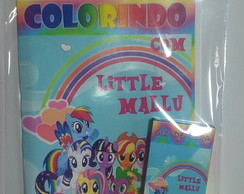 KIT DE COLORIR - MY LITTLE PONY