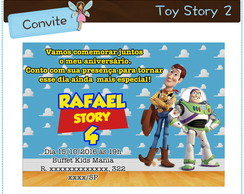 Toy Story | Convite digital