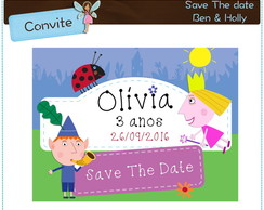 Save The Date Ben & Holly | digital