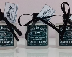 Vidro Mini Whisky Jack Daniel's 30ml