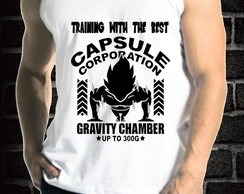 CAMISETA VEGETA GYM