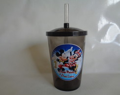 Copo c/ Canudo 700ml Mickey e Minnie 4