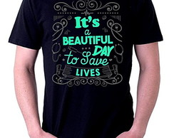 CAMISETA MASCULINA - BEAUTIFUL DAY