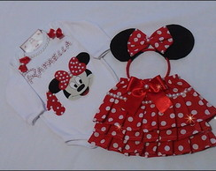 body e saia minnie