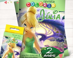 Kit Revista + Giz Tinker Bell