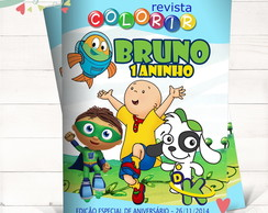 Revista Colorir Discovery Kids