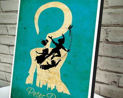Poster / Quadro A4 Peter Pan