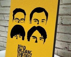 Poster / Quadro A4 The Big Bang Theory