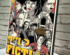 Poster / Quadro A4 Pulp Fiction