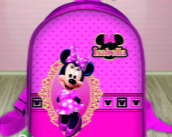 Mochilinha Top Minnie