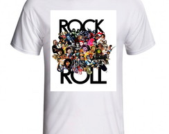 CAMISETA ROCK & ROLL