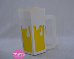 Caneca chopp 3D - SVG, Studio e Scancut