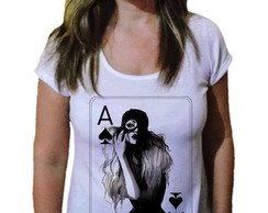 Camiseta Feminina Mundo Fashion 60