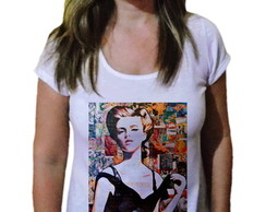 Camiseta Feminina Mundo Fashion 66