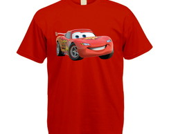 Camiseta Colorida Carros Disney