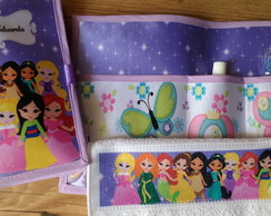 Kit Higiene Princesas Disney