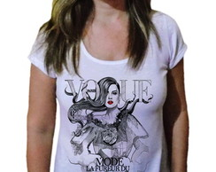 Camiseta Feminina Mundo Fashion 90