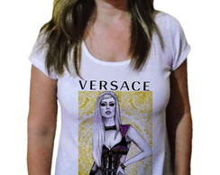 Camiseta Feminina Lady gaga Fashion 102
