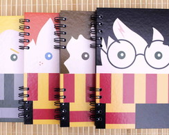 Caderno Harry Potter - Carinhas - Kit