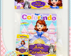 Kit de colorir Princesa Sofia