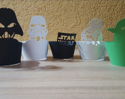 Kit Cinta Cupcake Star Wars
