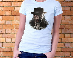 Camiseta Feminina Breaking Bad - Danger