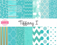 Kit Papel Digital - Tiffany & Gold