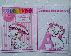 Kit Colorir com Massinha Gatinha Marie