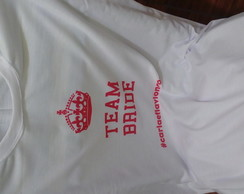 Camiseta Team Bride