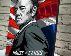 Poster / Quadro A4 House of Cards