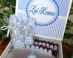 Kit Charutos de Chocolate + Alcool Gel