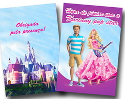 revista colorir barbie pop star ken