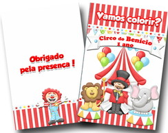 revista colorir circo 14x10