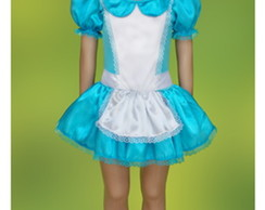 Fantasia Alice pop infantil