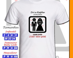 Camiseta New Game Personalizada