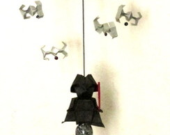 MÓBILE ORIGAMI STAR WARS DARTH VADER